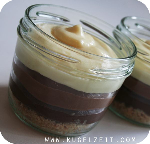 Triple Chocolate Cheesecake › Kugelzeit